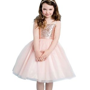 Other - Girls sequin & tulle dress